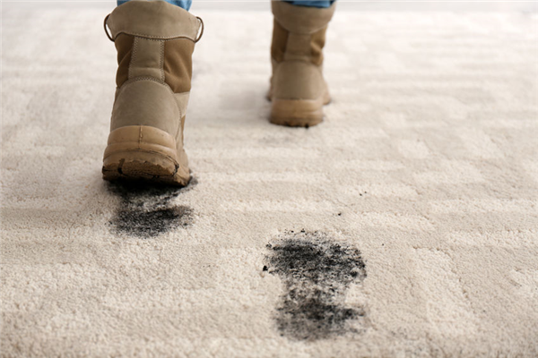 How Your Dirty Shoes Can Stain Your Carpet