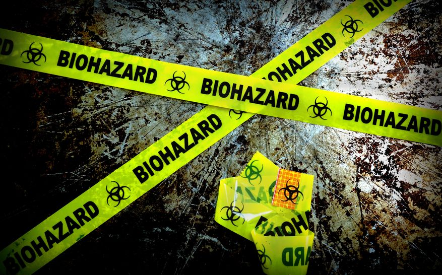 How to Process a Biohazardous Crime