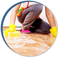 Residential Water Damage - Restoring Damaged Carpet